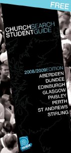 Student Church Guide for Scotland